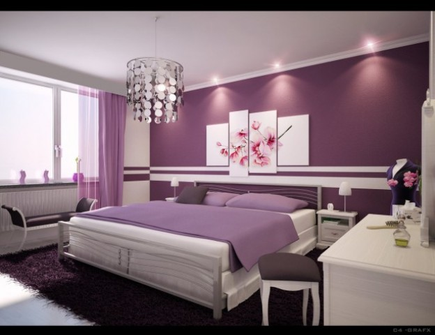 purple paint ideas for bedrooms bedroom paint colors 2013 modern diy designs 19568