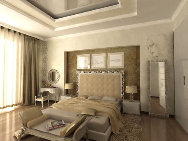 modern classic bedroom design luxurious modern classic interior bedroom decorating ideas 16343