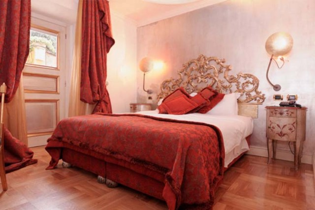 appealing romantic red bedroom design | Red And White Romantic Bedroom Ideas – Beautiful Homes ...