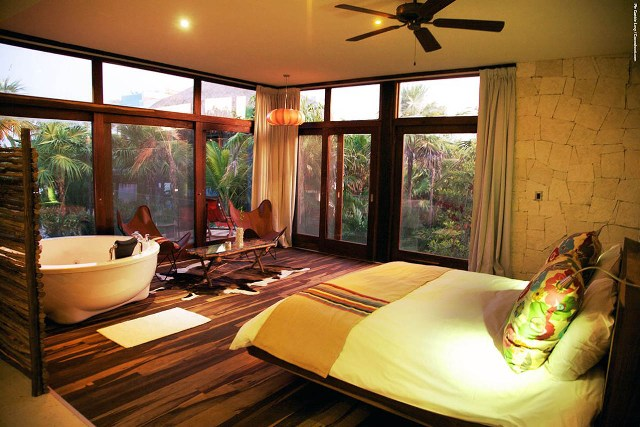 beautiful tropical nuance bedroom | The Tropical Most Beautiful Bedroom Design Ideas ...