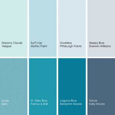 When It Comes To Blue Paint The Options Are Endless