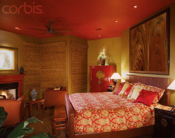 Luxury Chinese-Themed Bedroom Design